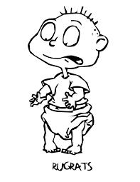 rugrats coloring pages olegandreev me