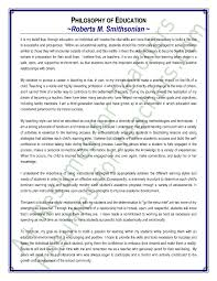 Examples Of Resume For Teachers by Teacher Philosophy Of Education Statement Sample U2013 Values Beliefs