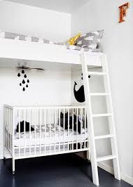 chambre enfant blanc décoration chambre d enfant mixte chambre pour enfant et bébé