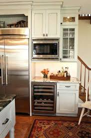 wine cooler in kitchen island thinking of replacing the kitchen