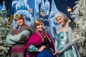 frozen holiday u0027 magic kingdom park disney parks blog