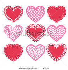 heart shaped doilies lace heart doily stock images royalty free images vectors