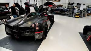 pagani factory prototype 0 tours the pagani factory and sees the last zonda