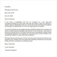 sample business christmas letter letters from santa templates