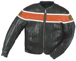 perforated leather motorcycle jacket vanson leathers