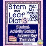 mean median mode range activity teaching resources teachers pay