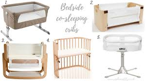 Bed Side Cribs by Co Sleeping Solutions Bedside Cribs Sophie And Lily