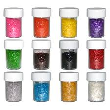 edible gliter glitter 12 pc set