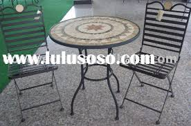 Round Patio Furniture Set by Small Round Patio Table And Chairs Outdoorlivingdecor