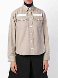 sacai luck sacai luck front pocket shirt farfetch