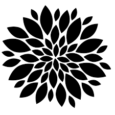New Modern Black And White by Flower Clipart Black And White Free Art Images Freeclipart Pw