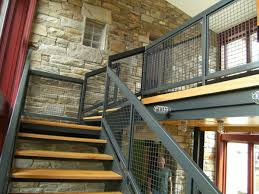 indoor stair railing classic interior design with sophisticated