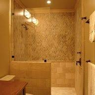 Showers Without Glass Doors Simple Showers Without Glass Doors Inspiration Ideas 12905