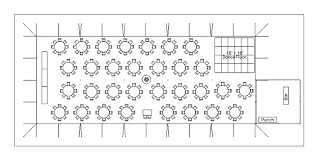 wedding floor plans cad tent layout for wedding reception with 250 guests in anacortes