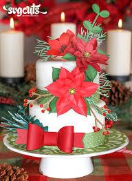 Christmas Cake Decorating Blog by Christmas Cake A La Svg Cuts By Ilda Dias Svgcuts Com Blog