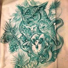 vintage owl tattoo designs tattoo collection