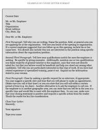 Example Of Cover Letter For A Resume by How To Write Cover Letters Pomona College In Claremont
