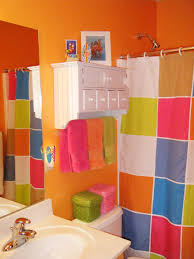 Kids Bathroom Designs In White Bright Bathroom Colorful Schemes