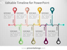 professional presentation multi arrow template fres powerpoint