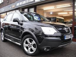 opel antara 2007 used vauxhall antara automatic for sale motors co uk