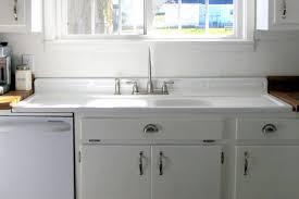 Kitchen Sinks With Backsplash Sinks Farmhouse Sink With Drainboard And Backsplash