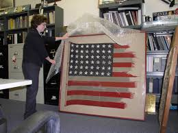 World War 2 Us Flag File Us Navy 040615 N 6236g 004 Karen France Curator With The