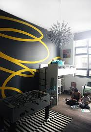 wandgestaltung für jugendzimmer wand streichen ideen kreative wandgestaltung freshouse