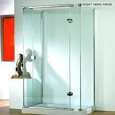 kudos infinite 1200mm straight hinged shower door 4hd120lhs