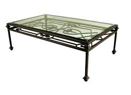 wrought iron end tables wrought iron and glass coffee tables foter with table design 0