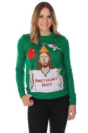 Is Really Jesus Birthday S Happy Birthday Jesus Sweater Tipsy Elves