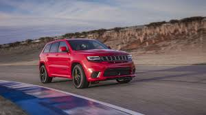 jeep snow tracks the jeep grand cherokee trackhawk is 707 hp of all wheel drive