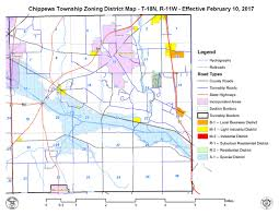 Map Of Youngstown Ohio by Chippewa Township Zoning
