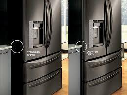 kitchenaid cabinet depth refrigerator kitchenaid counter depth refrigerators beautiful kitchen counter
