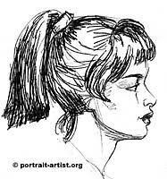 portrait art tips how to draw the face lessons on drawing the face