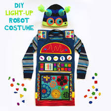 diy light up robot costume bugaboocity