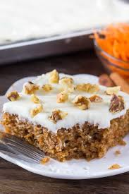 carrot cake with cream cheese frosting lil u0027 luna