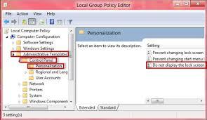como desabilitar a lock screen do windows 8 dicas e tutoriais