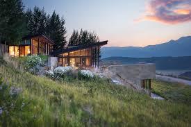 Sagemodern by Frank Lloyd Wright Inspired Ranch In Wyoming Form U0026 Frame