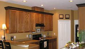 crown molding a different color than cabinets google search