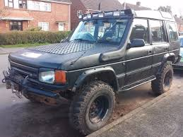 land rover classic lifted modified land rover discovery off road 4x4 1997 300tdi classic 7