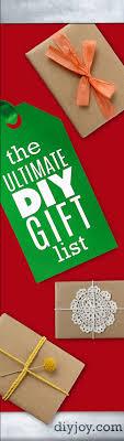 the ultimate diy gifts list diy