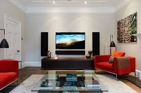 the living room in spanish home design