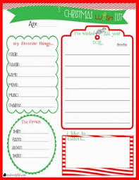 christmas wish list maker free christmas wish list printable in addition to things that the