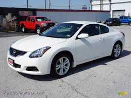 2008 nissan altima coupe 2010 nissan altima 2 5 s coupe in winter frost white 119167