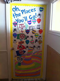 25 unique college door decorations ideas on door