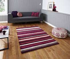 Modern Stripe Rug by Hong Kong Hand Tufted Large Modern Rug Striped Design Acrylic Home
