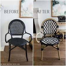 Chevron Armchair 10 French Bistro Chairs So Much Better With Age