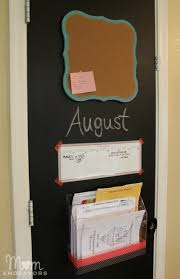 kitchen bulletin board ideas back to routine easy diy pantry door kitchen command center
