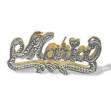 name plate earrings name plate earrings for men artfire markets trendearrings