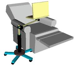 swivel arm laptop table easychairworkstation com products page